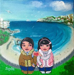 Mei+Kenji Winter at Bondi Beach