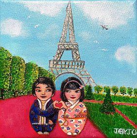 Mei+Kenji in Paris